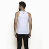 Sirtex Eazy Men's Parker White Regular Vest (Pack of 5)