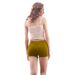 Sirtex Eazy Women's Plain Bloomer (Pack of 6) : Navy Blue, Coffee, Olive Green, Red & Mustard