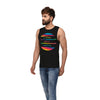 Sirtex Eazy Racer Printed Ribbed Vest  (Pack Of 2)