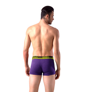 Sirtex Eazy Racer Galaxy Trunk (Pack of 3) : Light Grey Melange, Indigo & Yellow
