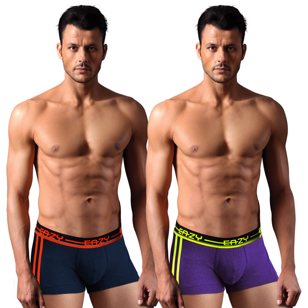 Sirtex Eazy Racer Galaxy Trunk (Pack of 2) : Navy Blue & Indigo