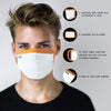 Pack of 25 Re-usable Outdoor Masks