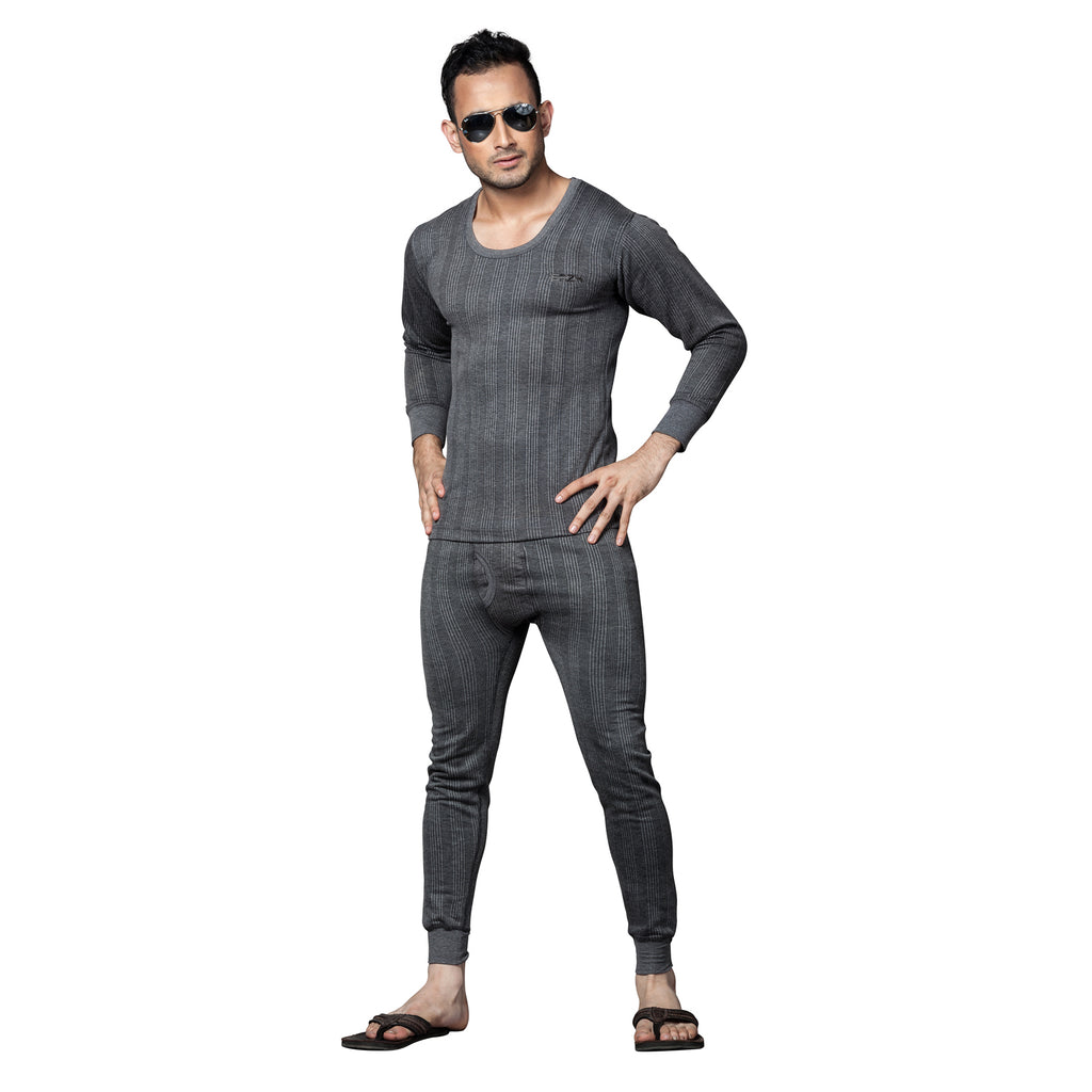 Sirtex Eazy Swelter Men's 2-Piece Dark Grey Thermal Set