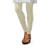 Sirtex Eazy Off-White Cotton Lycra Churidar Leggings