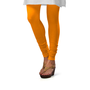 Sirtex Eazy Turmeric Cotton Lycra Churidar Leggings