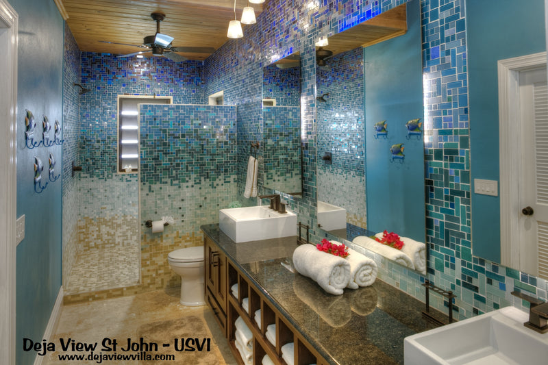 10 Ways To Bring Brilliant Blue Tile Into Your Home