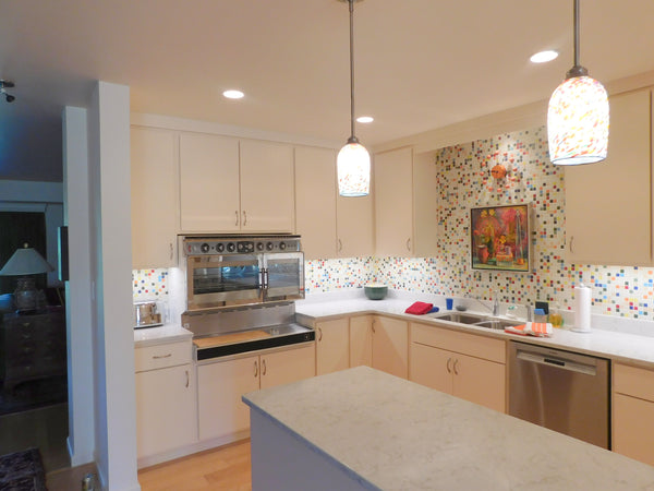 Diana's Story | Modern Mid-Century Colorful Kitchen