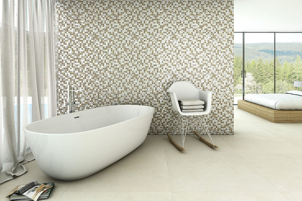 Add Dimension to Your Home With Our New Susan Jablon Recycled Glass Tiles