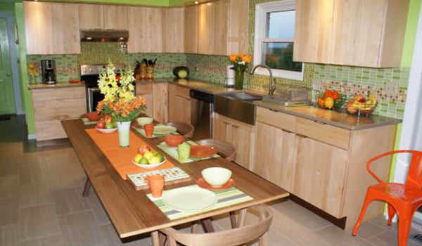 Citrus Splash Kitchen Design