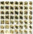 Quarter Sheet of GOLD DIAMOND BLING