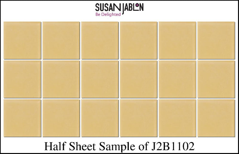 Half Sheet Sample of J2B1102