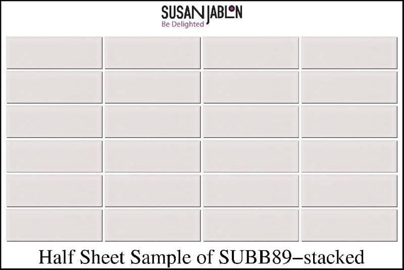 Half Sheet Sample of SUBB89-stacked