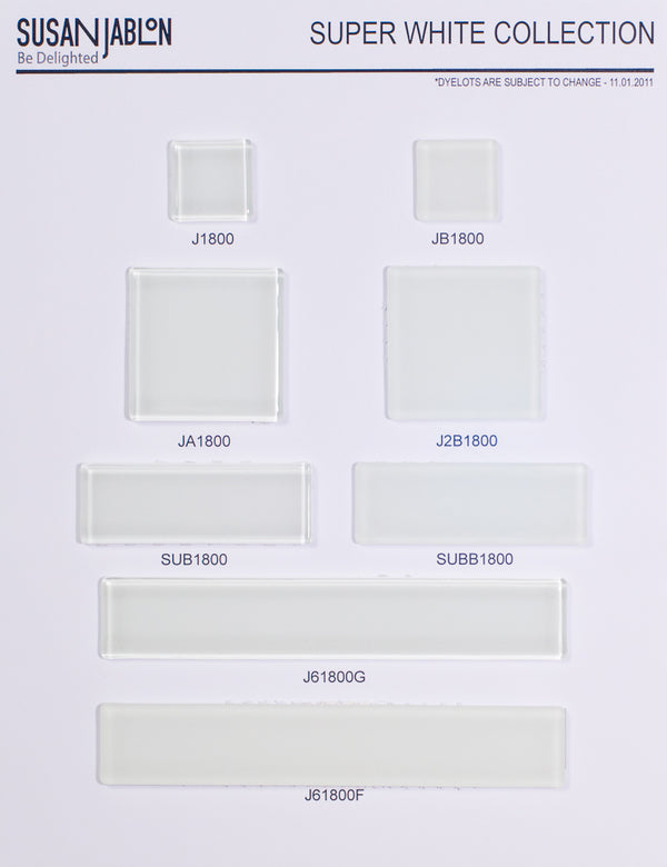 Super White Sample Board