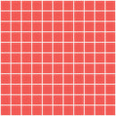 1 Inch Watermelon Pink Frosted Glass Tile