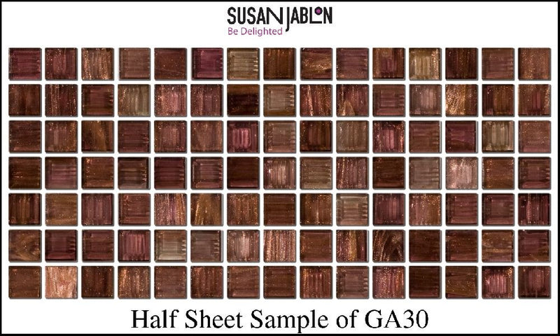 Half Sheet Sample of GA30