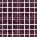 3/4 Inch Medium Lavender Purple Glass Tile