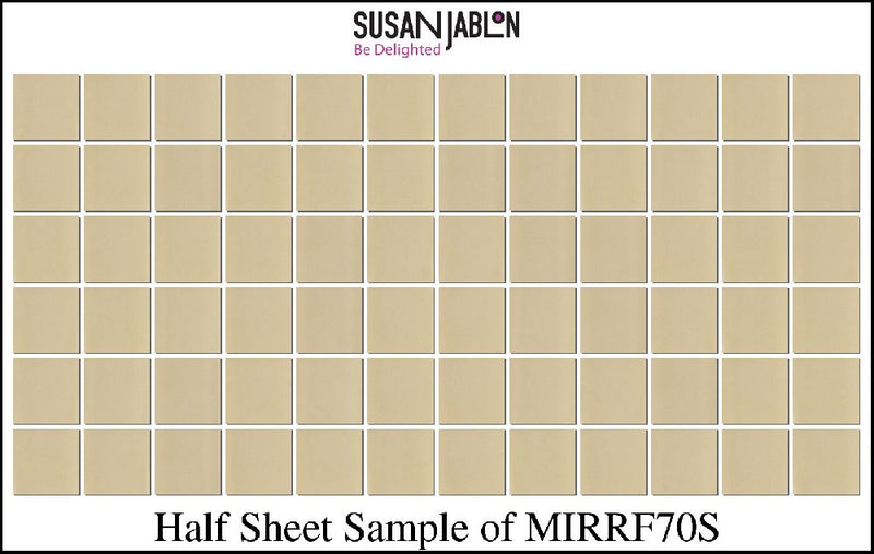 Half Sheet Sample of MIRRF70S