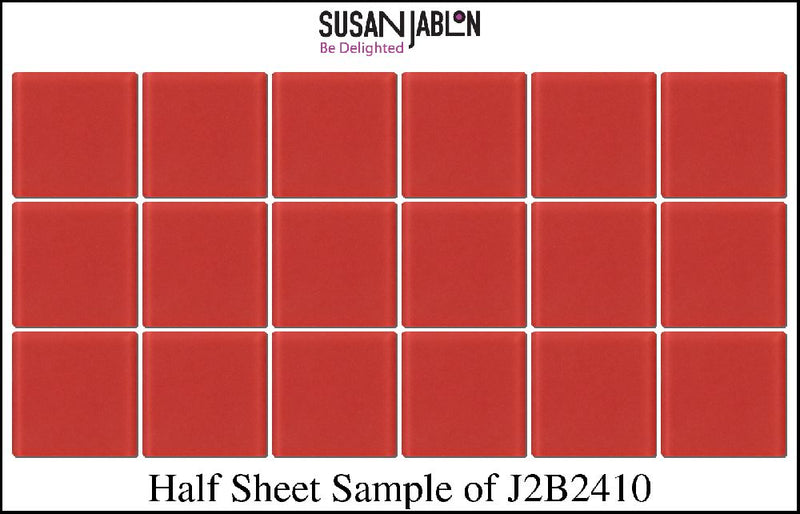 Half Sheet Sample of J2B2410