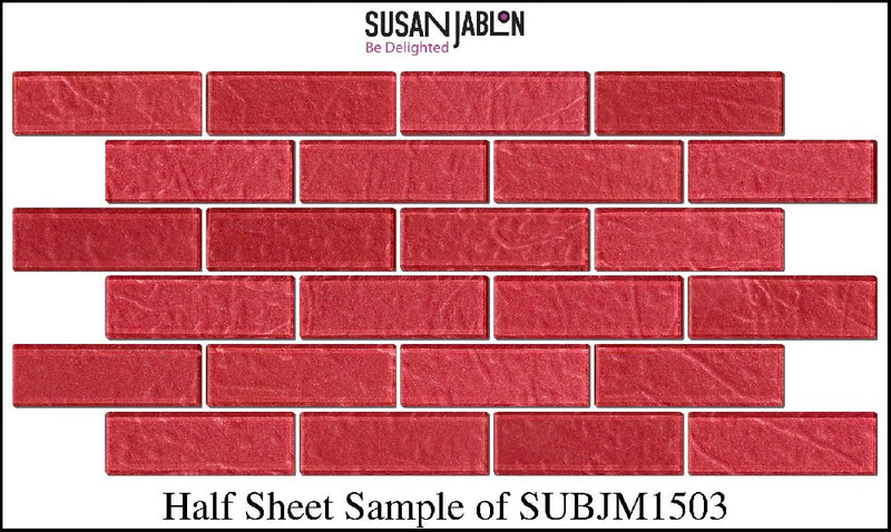 Half Sheet Sample of SUBJM1503