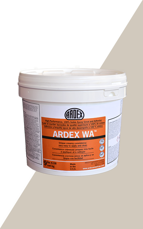 Ardex WA Antique Ivory High-Performance, 100% Solids Epoxy Grout and Adhesive