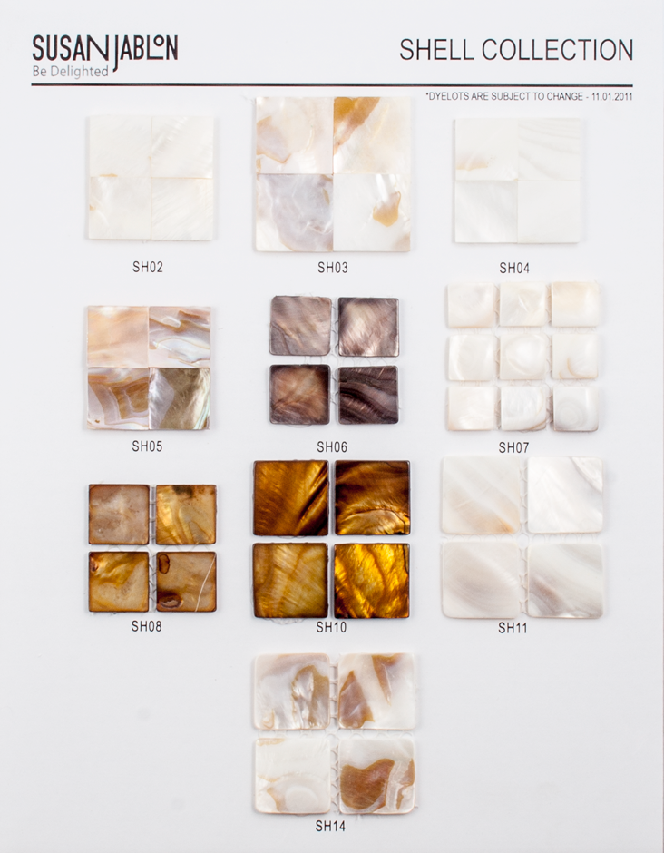 Shell Collection Sample Board
