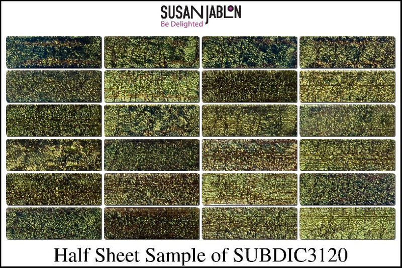 Half Sheet Sample of SUBDIC3120