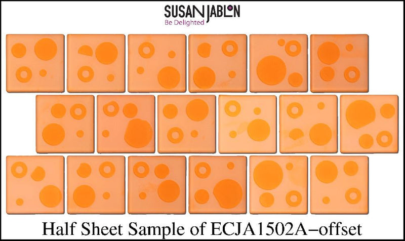 Half Sheet Sample of ECJA1502A-offset