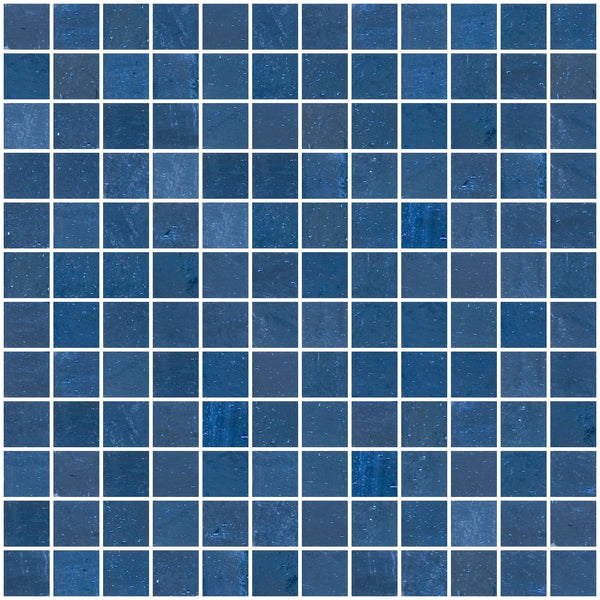 1 Inch Violet Blue Mirror Glass Tile