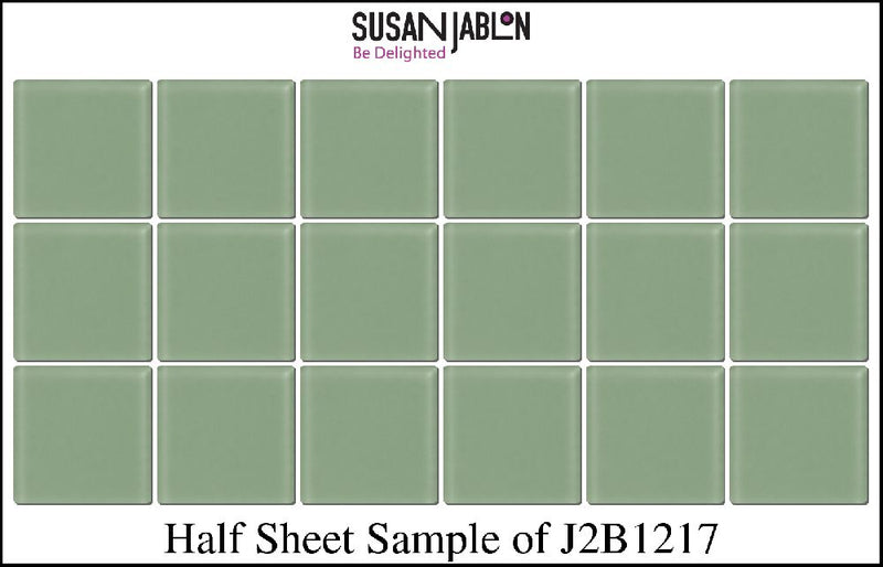 Half Sheet Sample of J2B1217