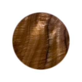 1 Inch Round Brown Shell Tile