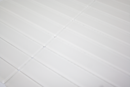 1x6 Inch Super White Frosted Glass Subway Tile