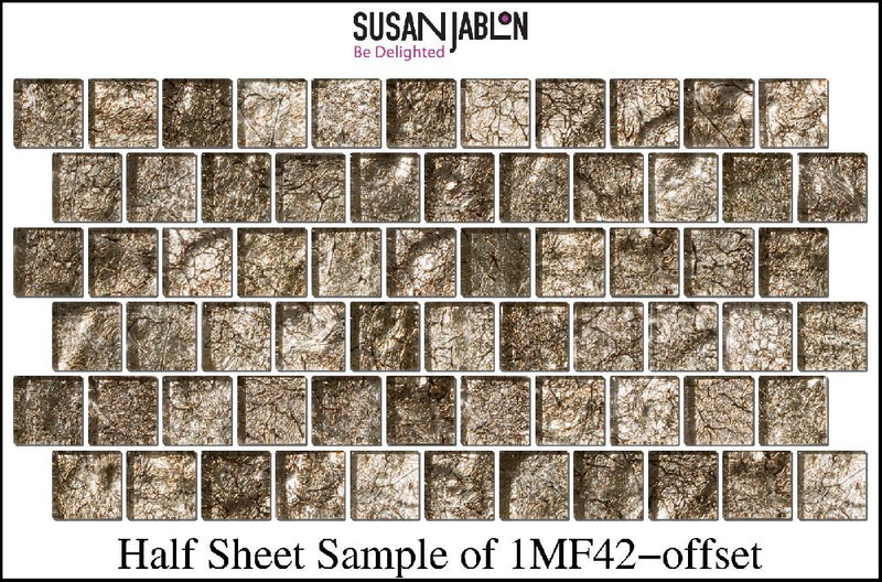 Half Sheet Sample of 1MF42-offset