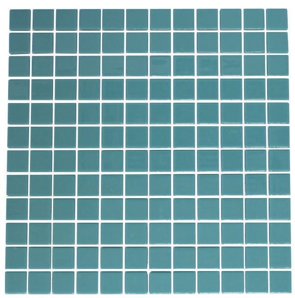 Teal Recycled Glass Tile