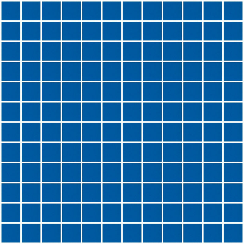 1 Inch Cobalt Blue Mirror Glass Tile