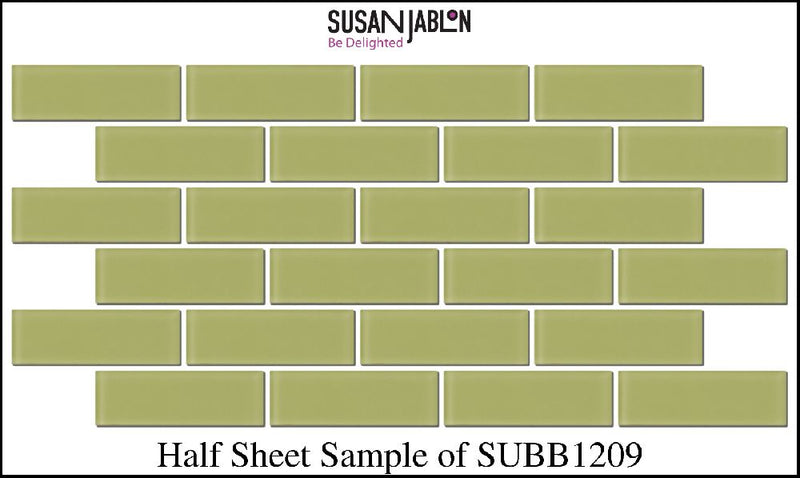 Half Sheet Sample of SUBB1209