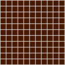 1 Inch Brown Glass Tile