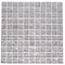 1 Inch Lavender Pearl Metallic Glass Tile