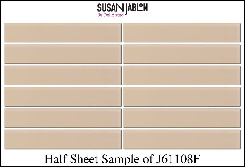 Half Sheet Sample of J61108F