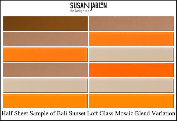 Half Sheet Sample of Bali Sunset