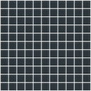 1 Inch Dark Gray Glass Tile