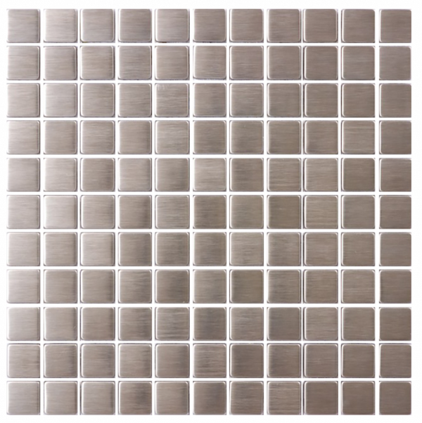 1 Inch Square Stainless Steel Tile
