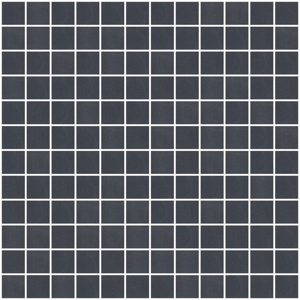 1 Inch Frosted Black Mirror Glass Tile