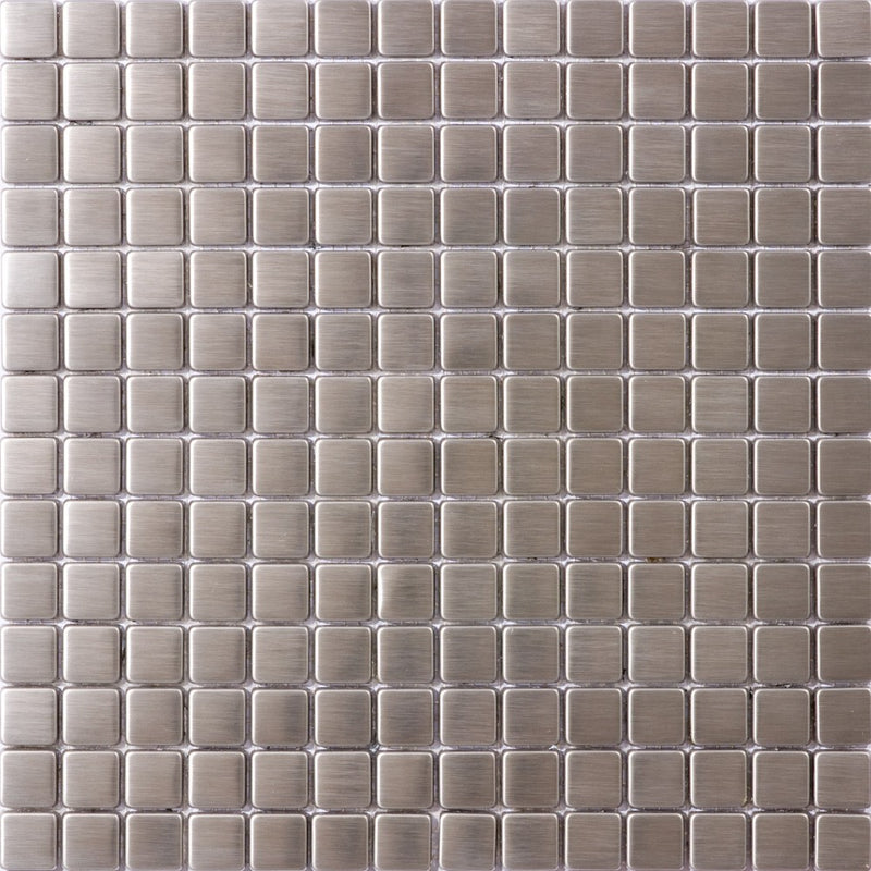 3/4 Inch Square Stainless Steel Tile