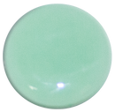 1-INCH ROUND mint green opaque FUSED GLASS ACCENT TILE