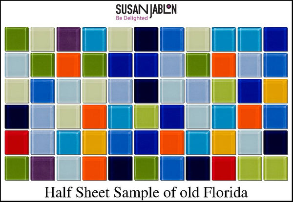 Half Sheet Sample of old Florida