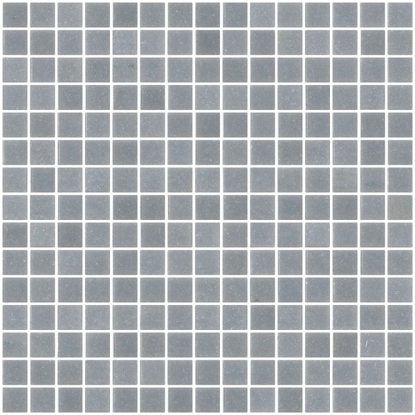 3/4 Inch Gray Glass Tile