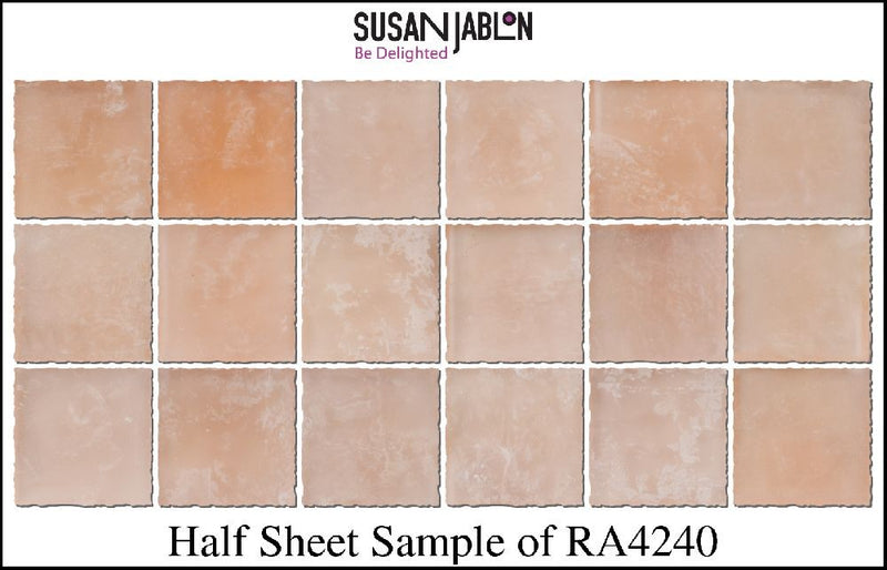 Half Sheet Sample of RA4240