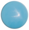 1-INCH ROUND Cyan blue opaque FUSED GLASS ACCENT TILE