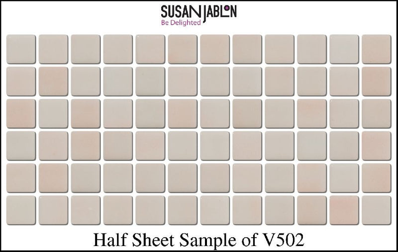 Half Sheet Sample of V502