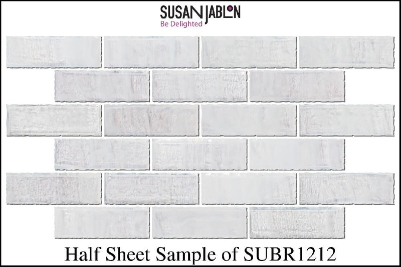 Half Sheet Sample of SUBR1212